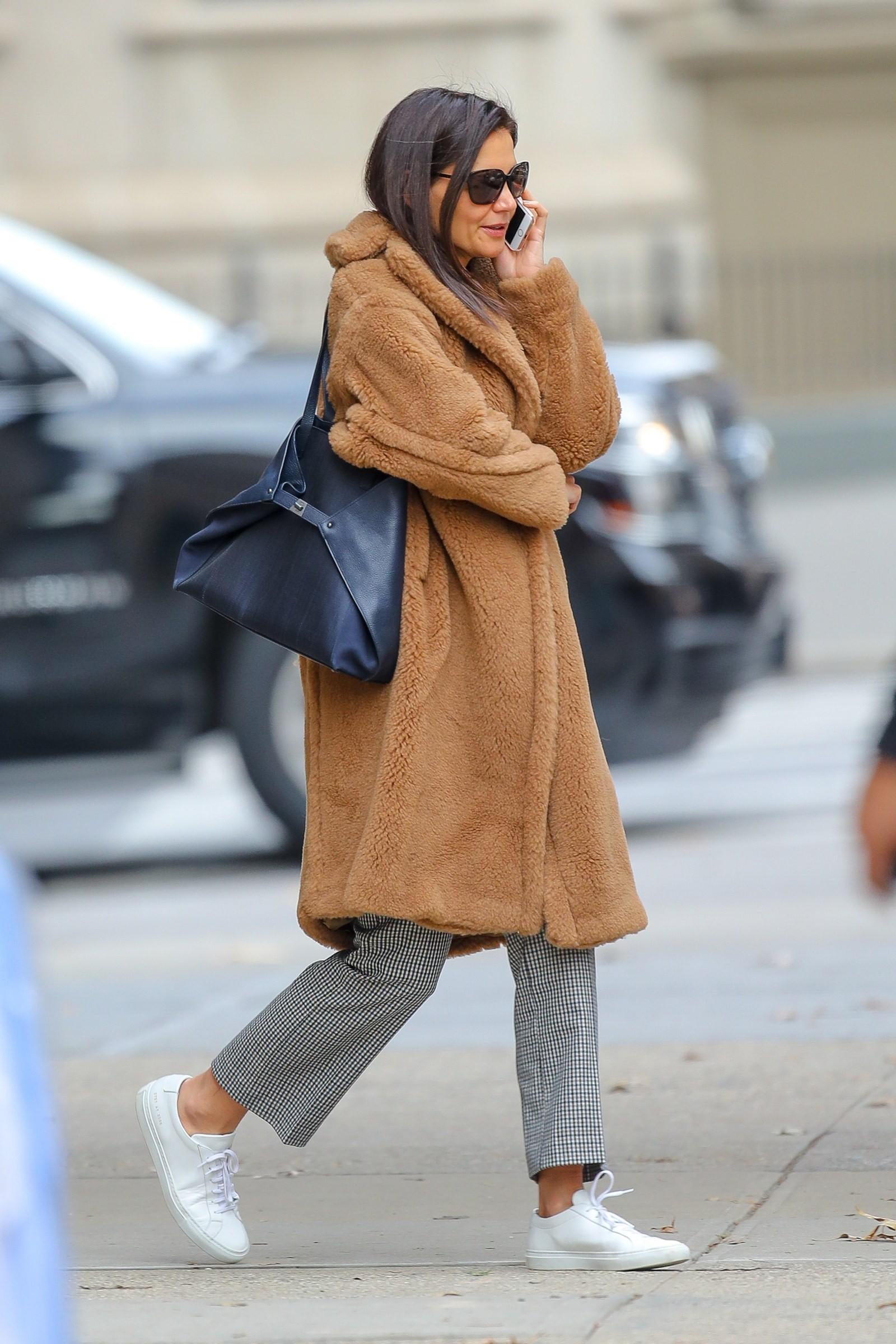 Katie Holmes (Foto: Splash News/ Vogue Runway)
