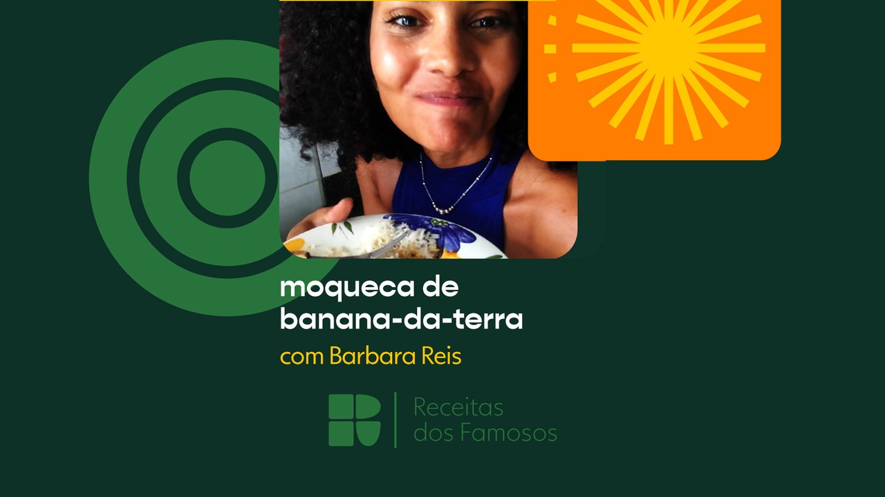 Barbara Reis ensina a fazer moqueca vegana de banana-da-terra