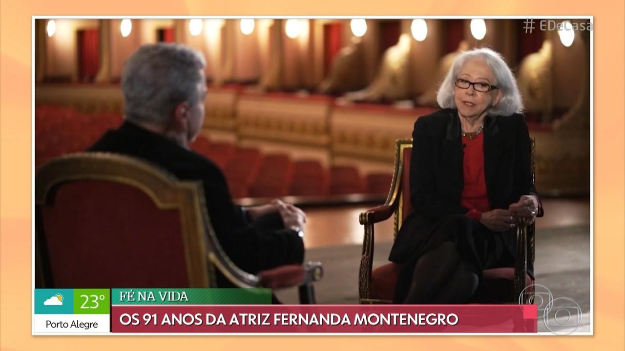 Relembre cenas marcantes de Fernanda Montenegro na televisão