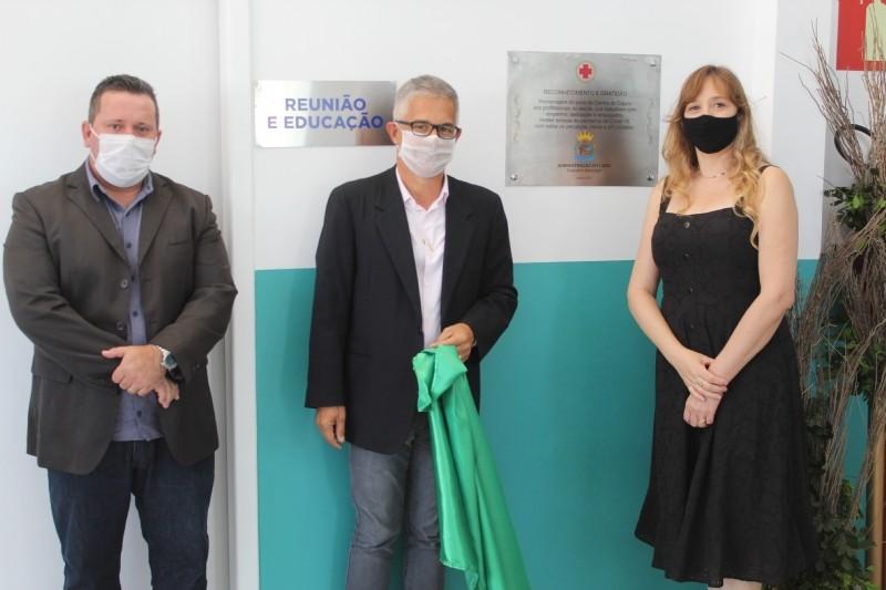 Prefeitura de Carmo do Cajuru inaugura nova Unidade Básica de Saúde