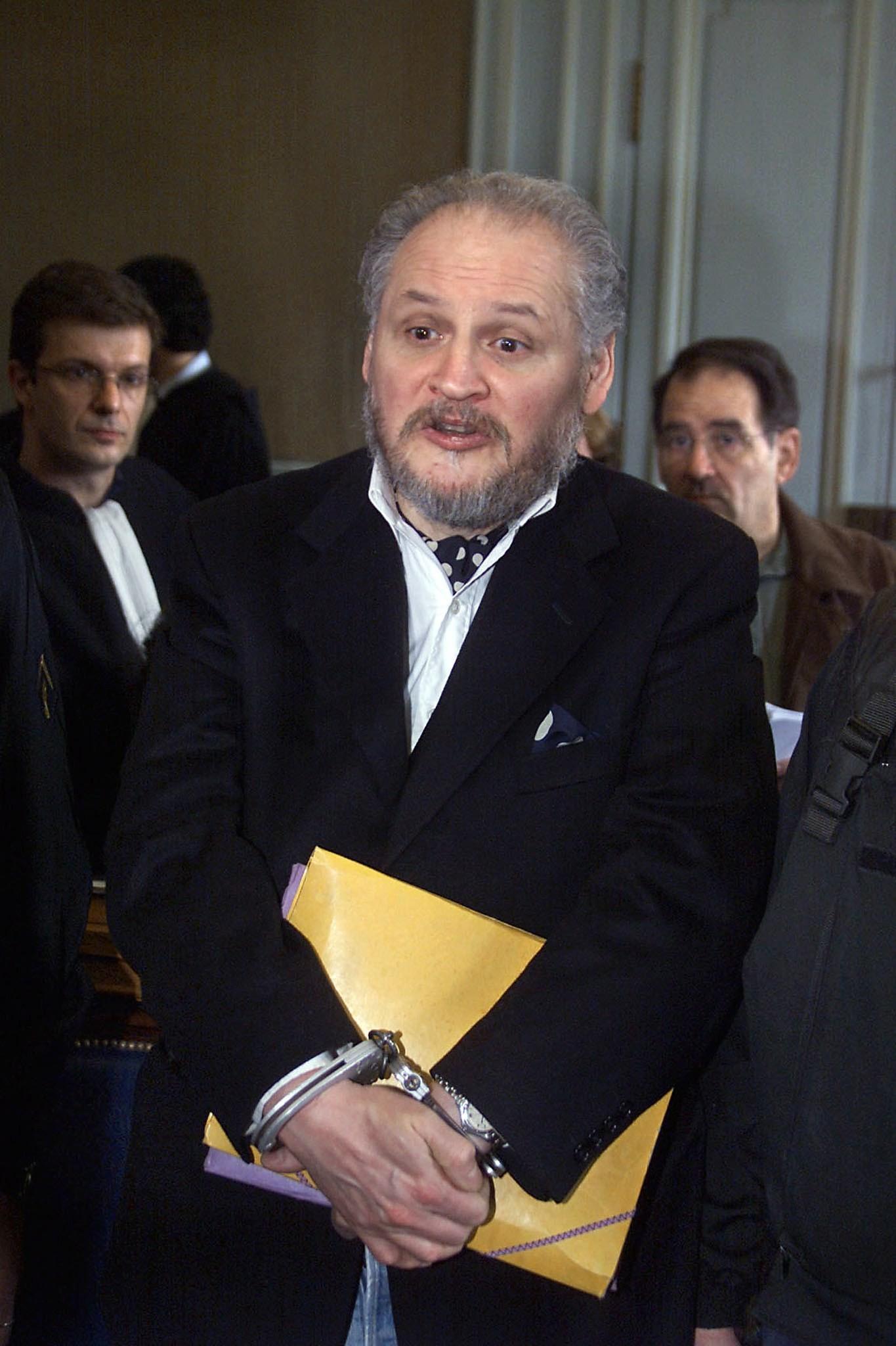 Carlos, o Chacal, na tribunal de Paris em 2001