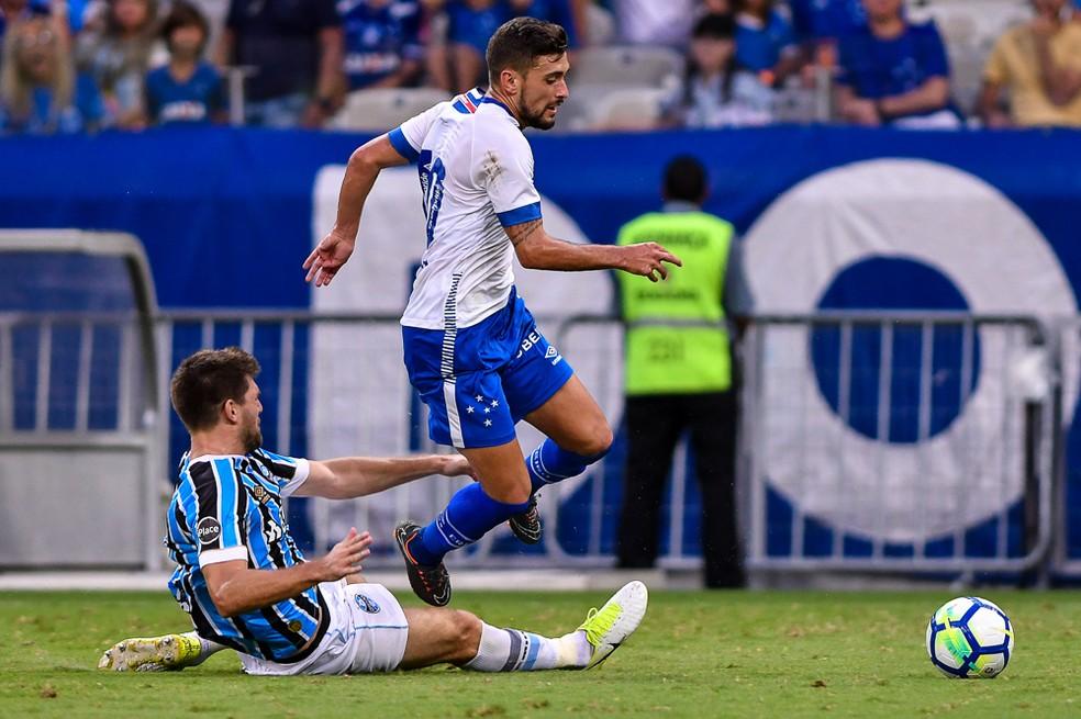 No primeiro jogo do Brasileirão, Grêmio venceu Cruzeiro no Mineirão (Foto: Yuri Edmundo/BP Filmes)