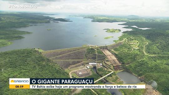TV Bahia exibe programa mostrando a força e beleza do Rio Paraguaçu