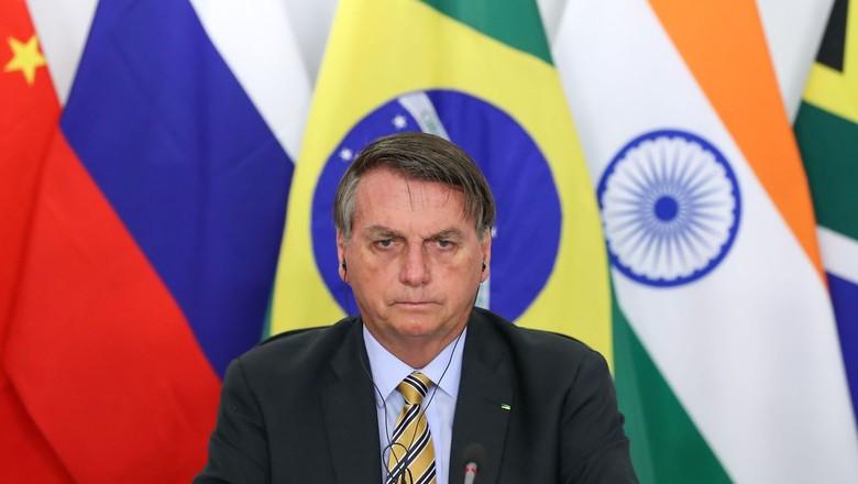 bolsonaro-discurso-cupula-brics (Foto: Marcos Correa/PR)