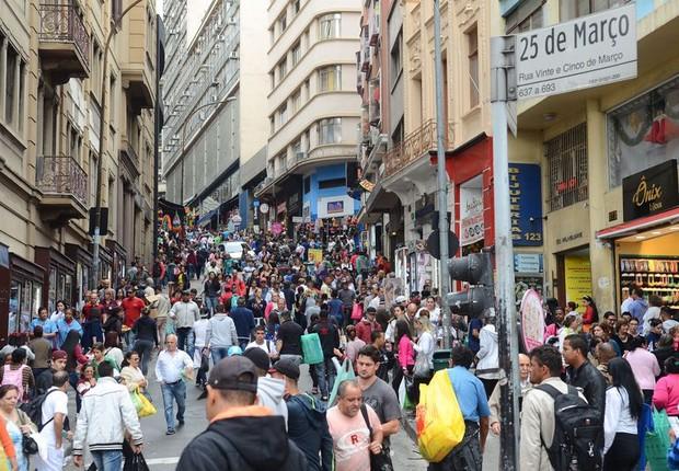 25 de março - comércio  (Foto: Rovena Rosa/Agência Brasil)