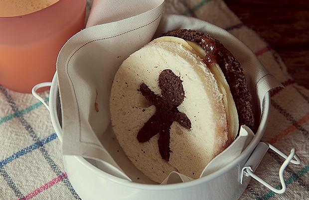 Sanduíche de queijo com geleia caseira (Foto: Cacá Bratke)