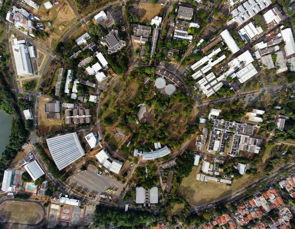 Campus da Unicamp, em Campinas — Foto: Rafael Smaira/G1
