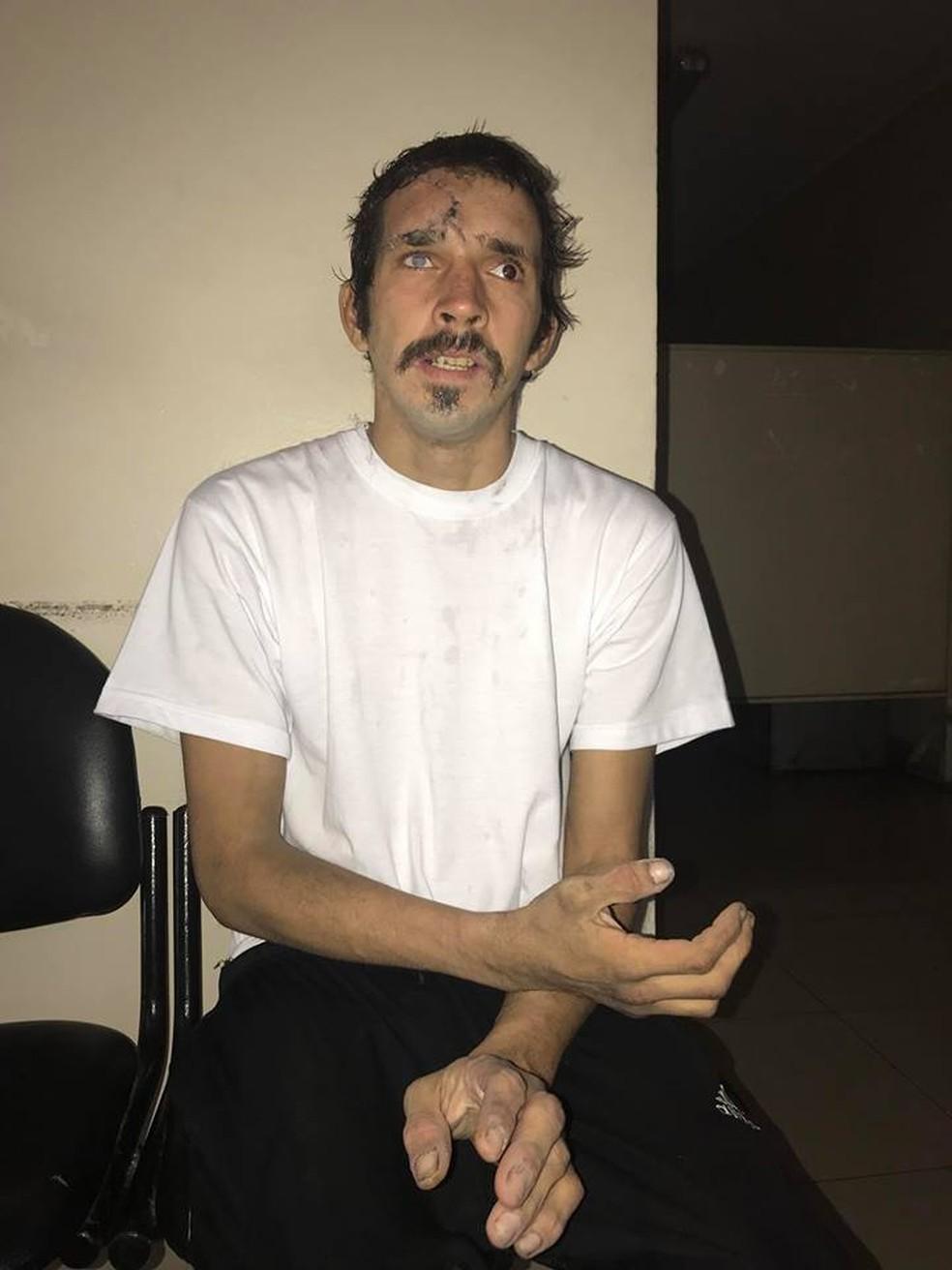Ariel Alberto Nacer desapareceu em Buenos Aires e foi encontrado no Peru (Foto: Repforudção/Facebook/ Florence Arce Ross)