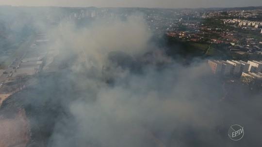 Corpo de Bombeiros registra até 15 incêndios por dia em áreas verdes de Piracicaba