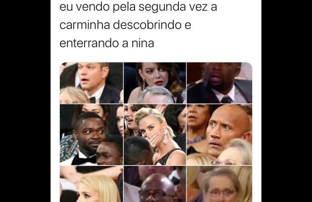 Memes da internet com 'Avenida Brasil' (Foto: Reprodução/Instagram)
