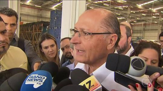 Alckmin faz campanha em Betim e defende maior participação do país no comércio exterior