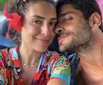 Fernanda Paes Leme e o namorado, Victor Sampaio | Reprodução