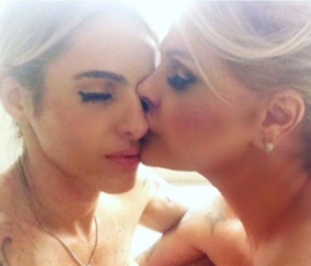 Cacá Werneck e Monique Evans (Foto: Reprodução / Instagram)