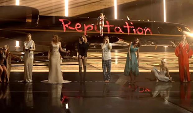 Look What You Made Me Do, clipe de Taylor Swift (Foto: Reprodução)