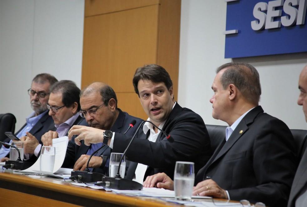Gustavo Oliveira, presidente da Fiemt/MT — Foto: Fiemt/MT