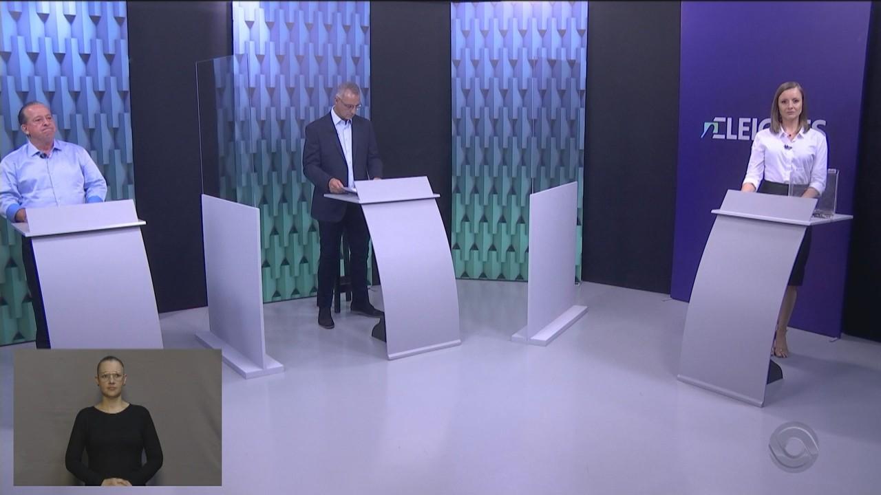 Debate no segundo turno com os candidatos à Prefeitura de Santa Maria - 2º Bloco
