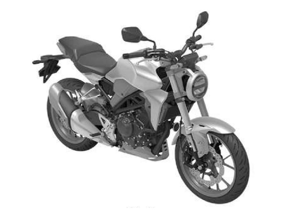 Patente da Honda CB 300 R (Foto: Inpi)