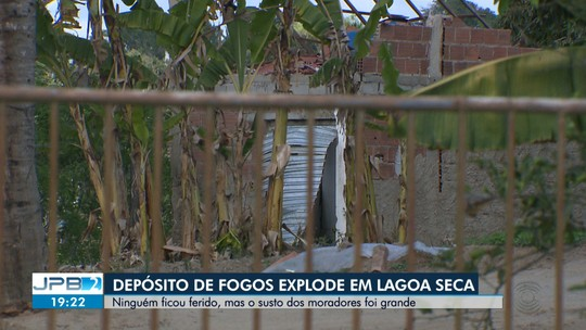 Depósito de fotos explode em Lagoa Seca