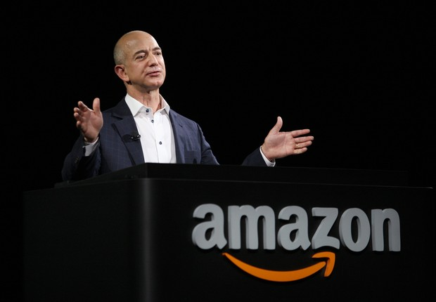 Jeff Bezos, da Amazon (Foto: David McNew/Getty Images)