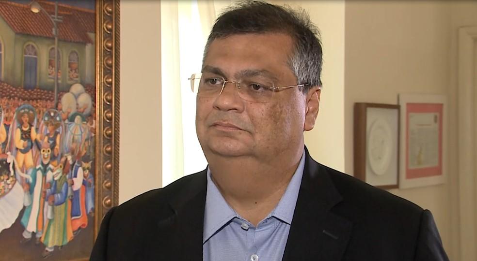 Governador do Maranhão, Flávio Dino (PCdoB).  — Foto: Reprodução/TV Mirante