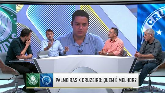 Quem é melhor? Seleção SporTV elege time ideal de Palmeiras e Cruzeiro