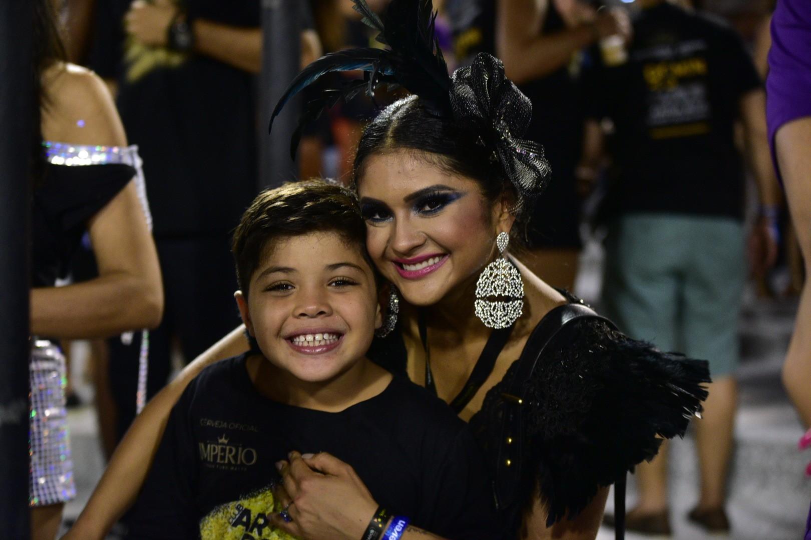Mileide Mihaile e Yhudy (Foto: Leo Franco / AgNews)