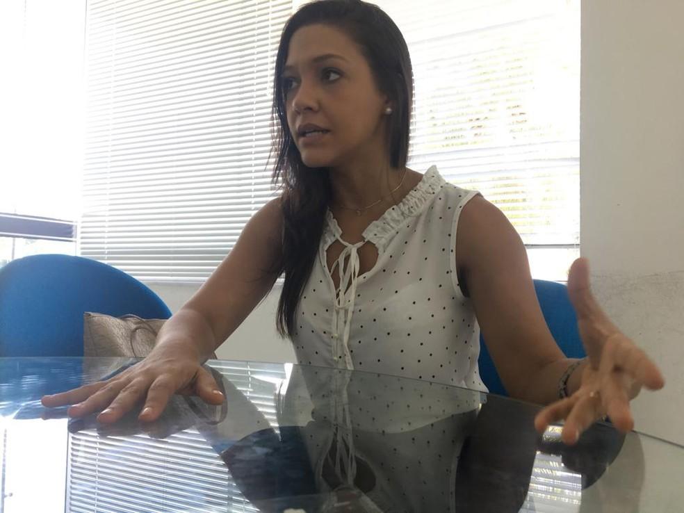 Advogada Fernanda Rodrigues integra o corpo jurídico da Asirn — Foto: Rafael Barbosa/G1