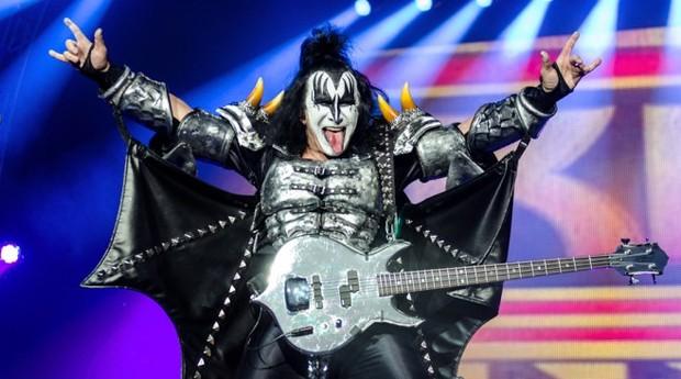 Gene Simmons, baixista do Kiss e empresário  (Foto: Reprodução)