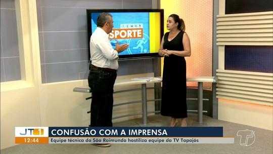 Esporte no JT: estreias no Parazão, empate do Pantera, confusão com imprensa e mais