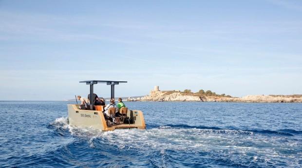 Segundo a empresa, o barco não faz barulho de motor e não emite (Foto: Divulgação)