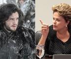 Dilma Rousseff e 'Game of thrones'   Reprodução da internet