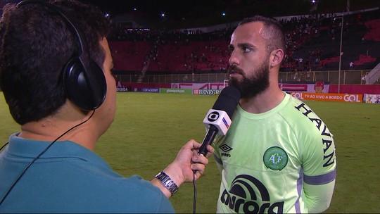 """Jandrei lamenta derrota para o Vitória: """"Perdemos um jogo que não podíamos perder"""""""