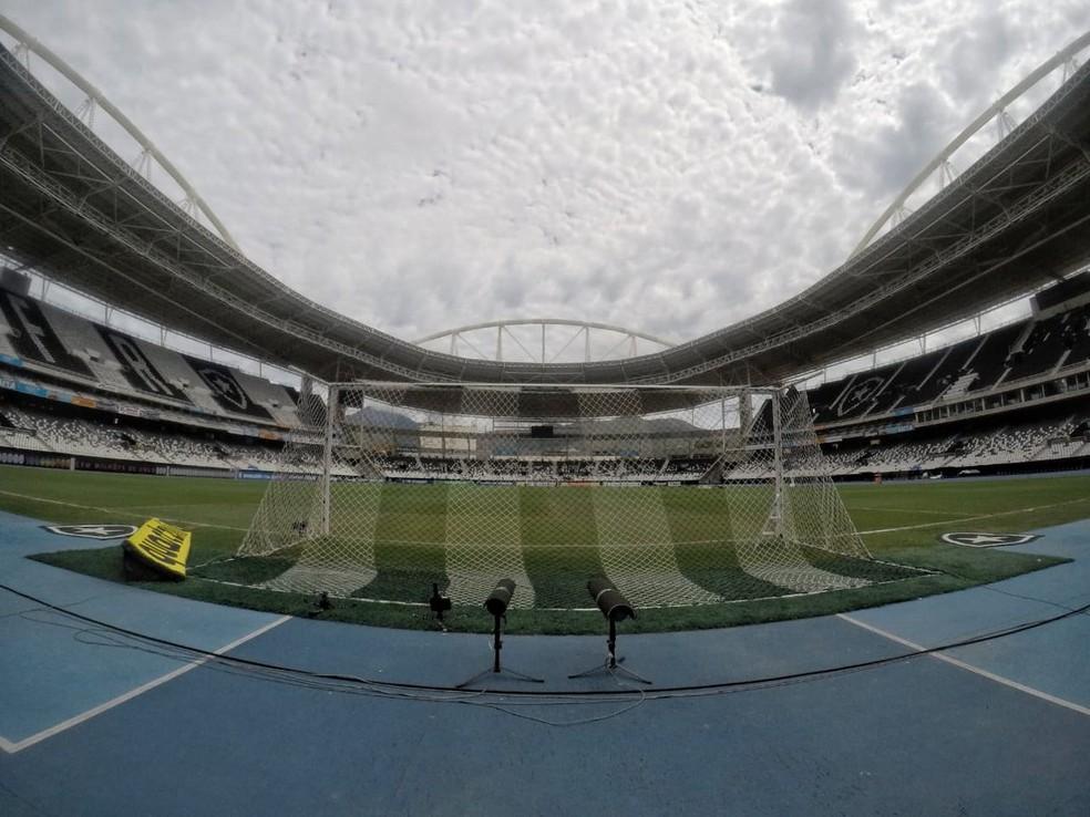 6b8eb6dd0893a ... Estádio Nilton Santos receberá Botafogo x Flamengo no sábado — Foto   twitter