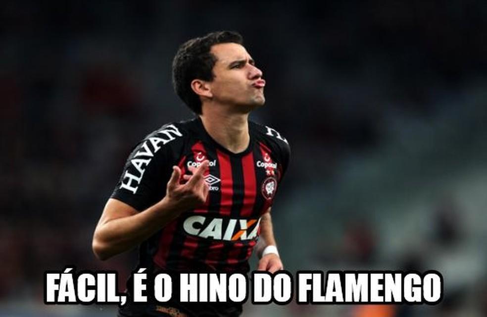 Pablo, Atlético-PR ? Foto: Reprodução