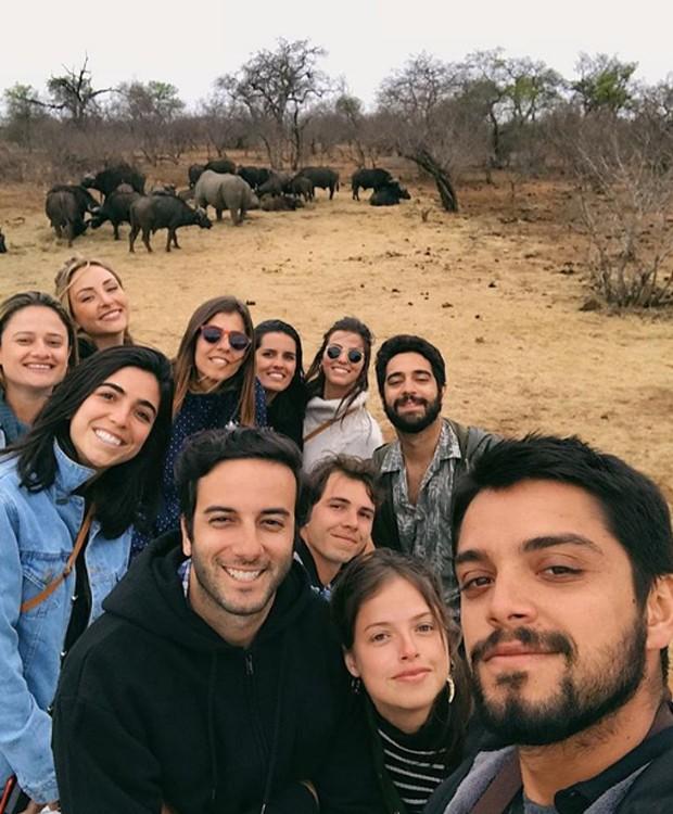 Famosos viajam à África do Sul (Foto: Instagram/ Reprodução)