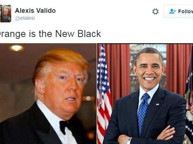 Novas cores na Casa Branca (Foto: Reprodução)