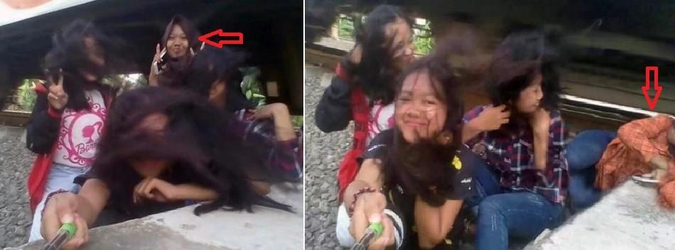 Adolescente é atingida na cabeça por trem