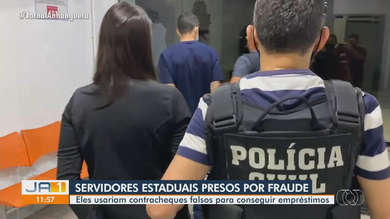 Dois servidores públicos são presos suspeitos de aplicar golpes com contracheques falsos