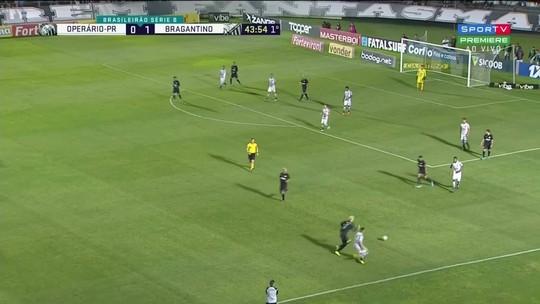 Veja os gols e os melhores momentos de Operário-PR x Bragantino, pela Série B