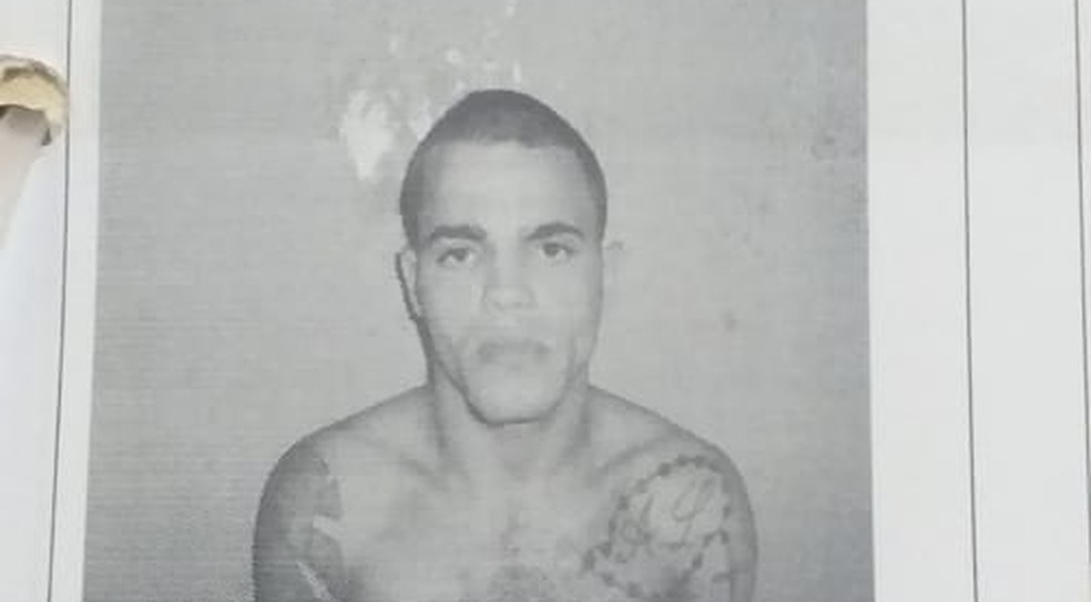 Detento fugiu da prisão — Foto: Divulgação