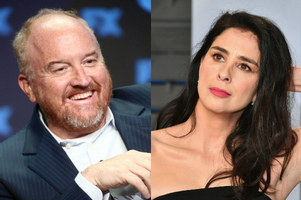 Louis CK e Sarah Silverman (Foto: Getty Images)