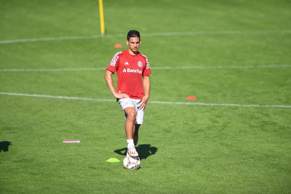 Jogador pertence ao Internacional e será emprestado até o fim da temporada — Foto: Ricardo Duarte/Divulgação, Inter