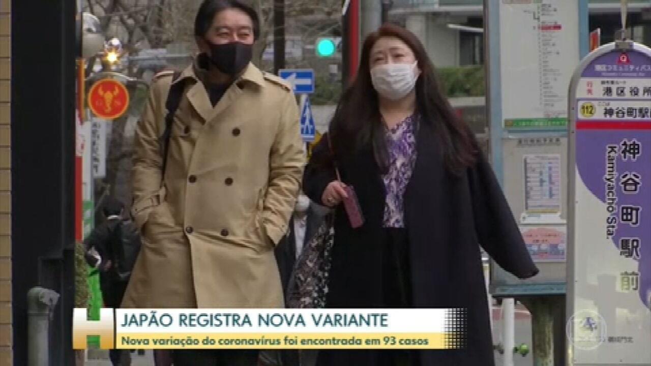Japão confirma que existe uma nova variante do novo coronavírus em circulação no país