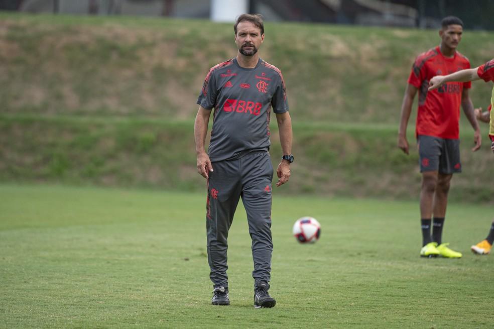 Mauricio Souza Flamengo — Foto: Alexandre Vidal / Flamengo