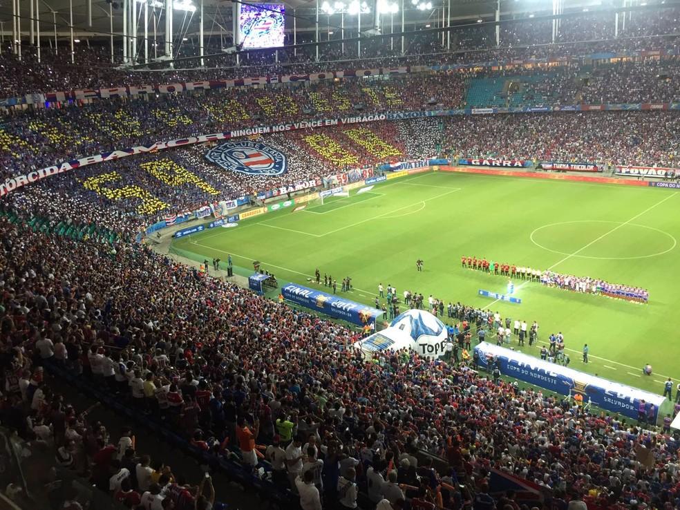 136f7bfdc7 Bahia inicia venda de ingressos para partida contra o Sport