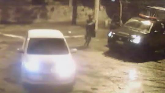 Imagens mostram que não havia bandidos em ação de PM que baleou duas pessoas em julho