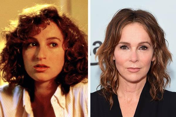 Jennifer Grey em 1976 e agora (Foto: Reprodução//Getty Images)