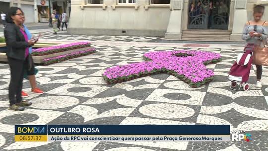 Em homenagem ao Outubro Rosa, RPC realiza evento de conscientização em Curitiba
