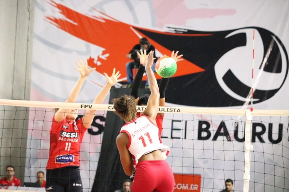 Jogo foi alucinante no Panela de Pressão — Foto: Victor Lira / Sendi Bauru Basket