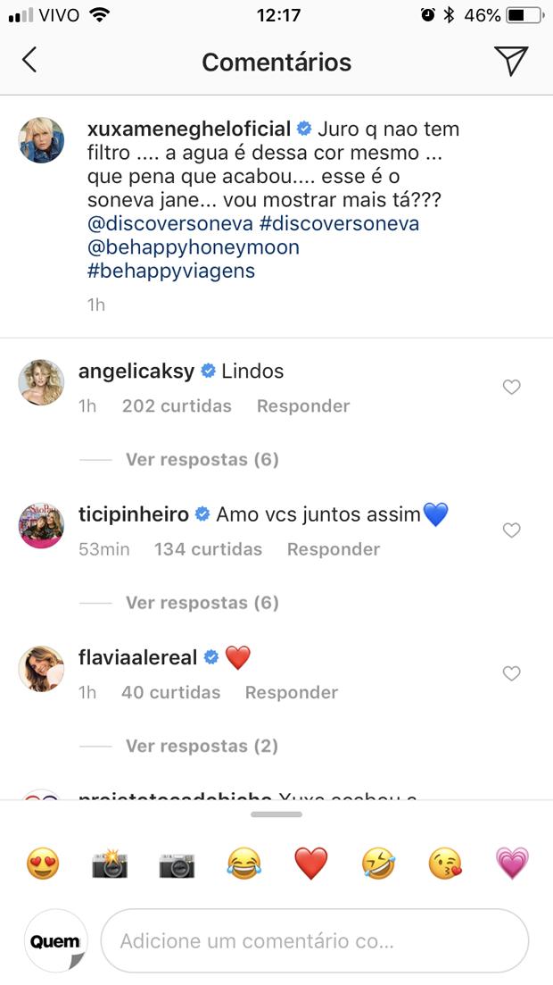 Post de Xuxa (Foto: Reprodução / Instagram)
